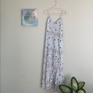 Leith floral flowy dress NWT